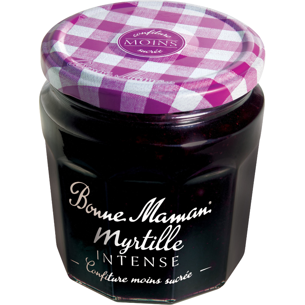Confiture myrtille intense, Bonne Maman (335 g)