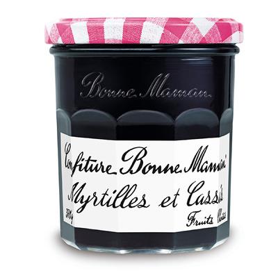 Confiture myrtilles et cassis, Bonne Maman (370 g)
