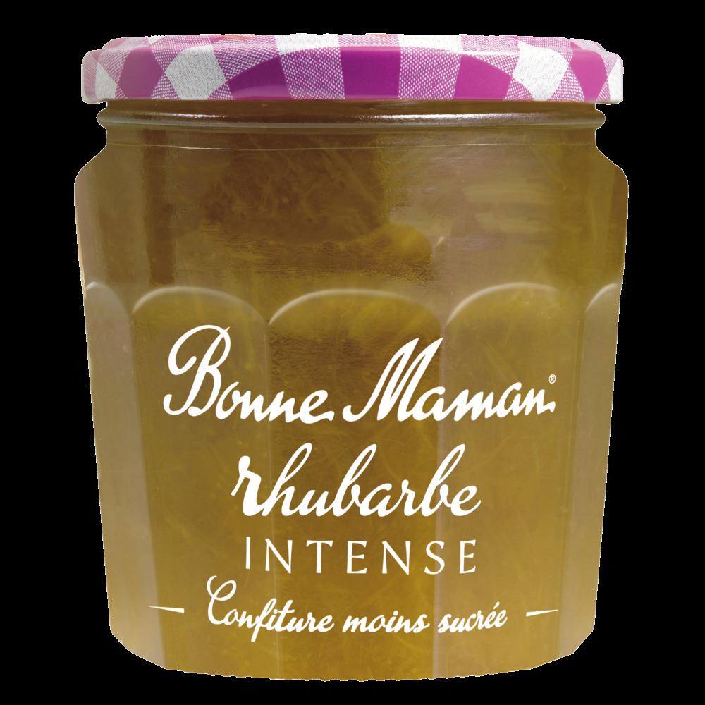 Confiture rhubarbe intense, Bonne Maman (335 g)