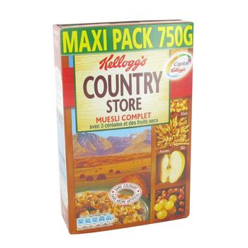 Céréales Muesli Country Store Kellogg's (750 g)