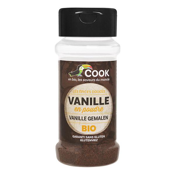 Vanille en poudre BIO, Cook (10 g)