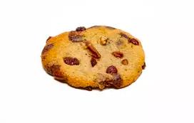 Cookie pépites de chocolat, noix de Pécan et cranberries, Rachel's Cake