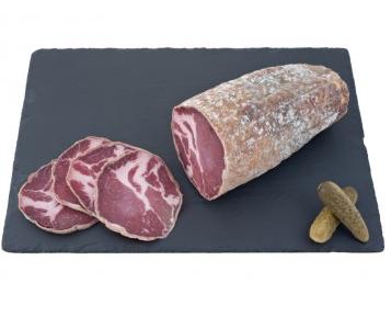 Coppa tranchée artisanale, Maison Conquet (environ 80-110 g)