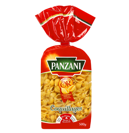 Coquillages, Panzani (500 g)