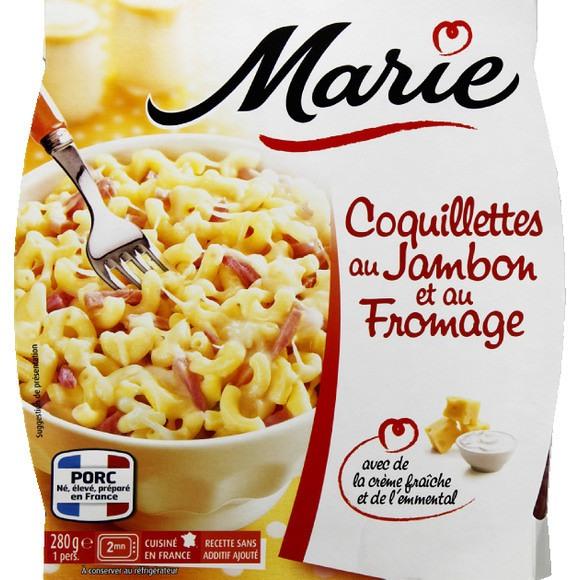 Coquillette au jambon et au fromage, Marie Frais (280 g)