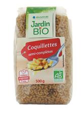 Coquillettes express semi-complètes, Jardin Bio (500 g)