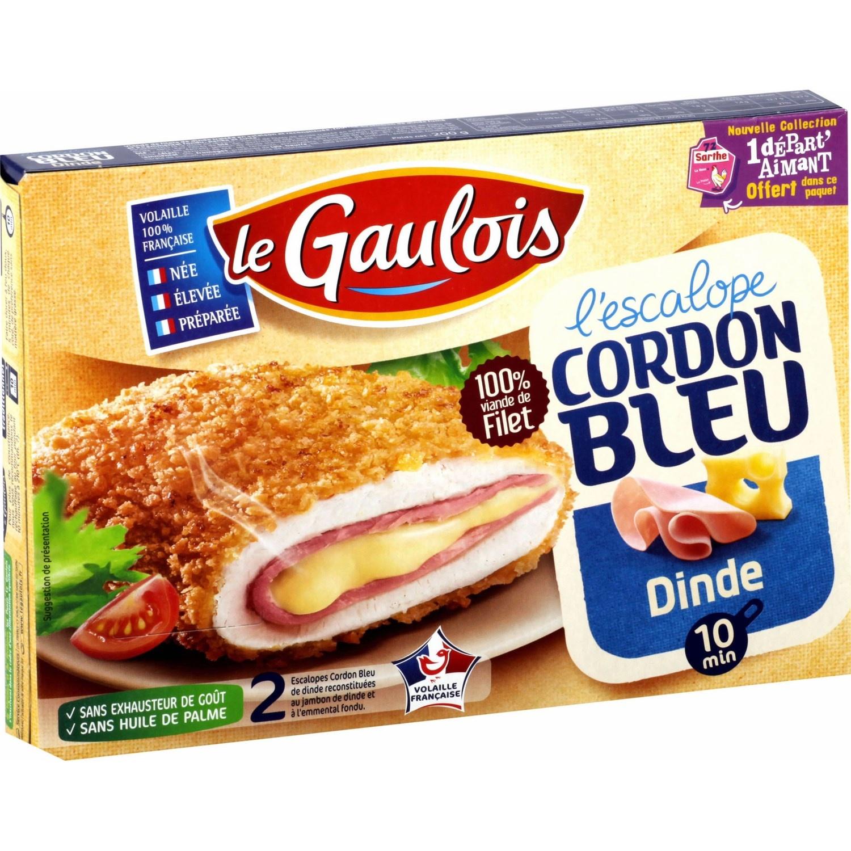 Cordon bleu de dinde Le Gaulois (x2, 200 g)