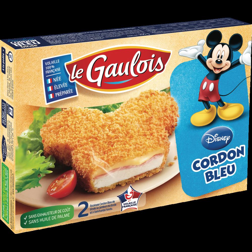 Cordon bleu Mickey, Le Gaulois (x 2, 160 g)