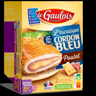 Cordons Bleu au poulet, Le Gaulois (x 2, 200 g)