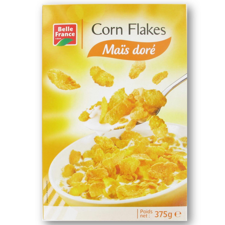 Corn Flakes pétales de maïs, Belle France (375 g)