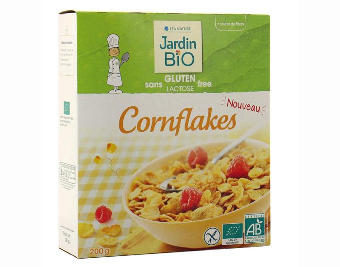Cornflakes sans Gluten BIO, Jardin Bio (200 g)
