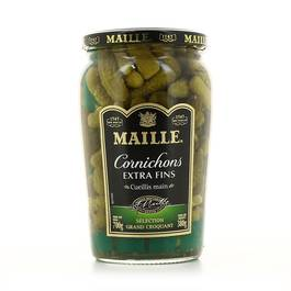 Cornichons extra fins, Maille (380 g)