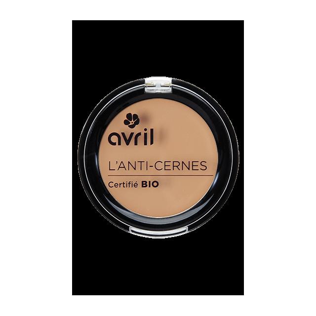 Anti-cernes doré certifié BIO, Avril (2,5 g)