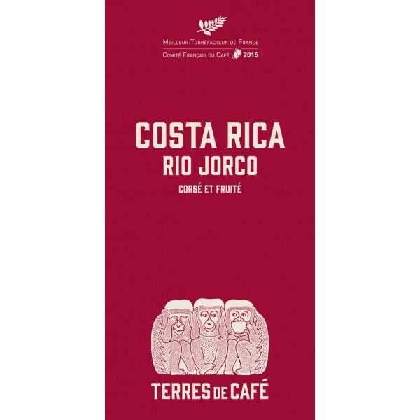 Café moulu Costa Rica Tarrazu Rio Jorco, Terres de café (250 g)