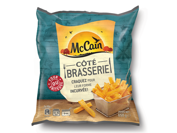 "Frites avec peau ""Coté brasserie"", Mac Cain (650 g)"