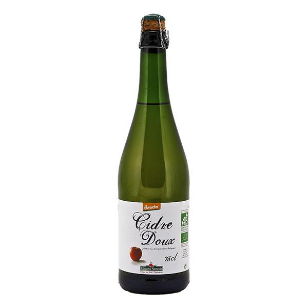 Cidre doux demeter BIO, Coteaux Nantais (75 cl)