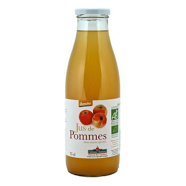 Jus de pomme demeter BIO, Coteaux Nantais (75 cl)