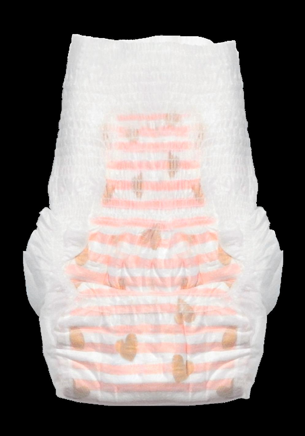 Couches-culottes motif Brigitte T5 / 9-13 kg, Joone (x 28)