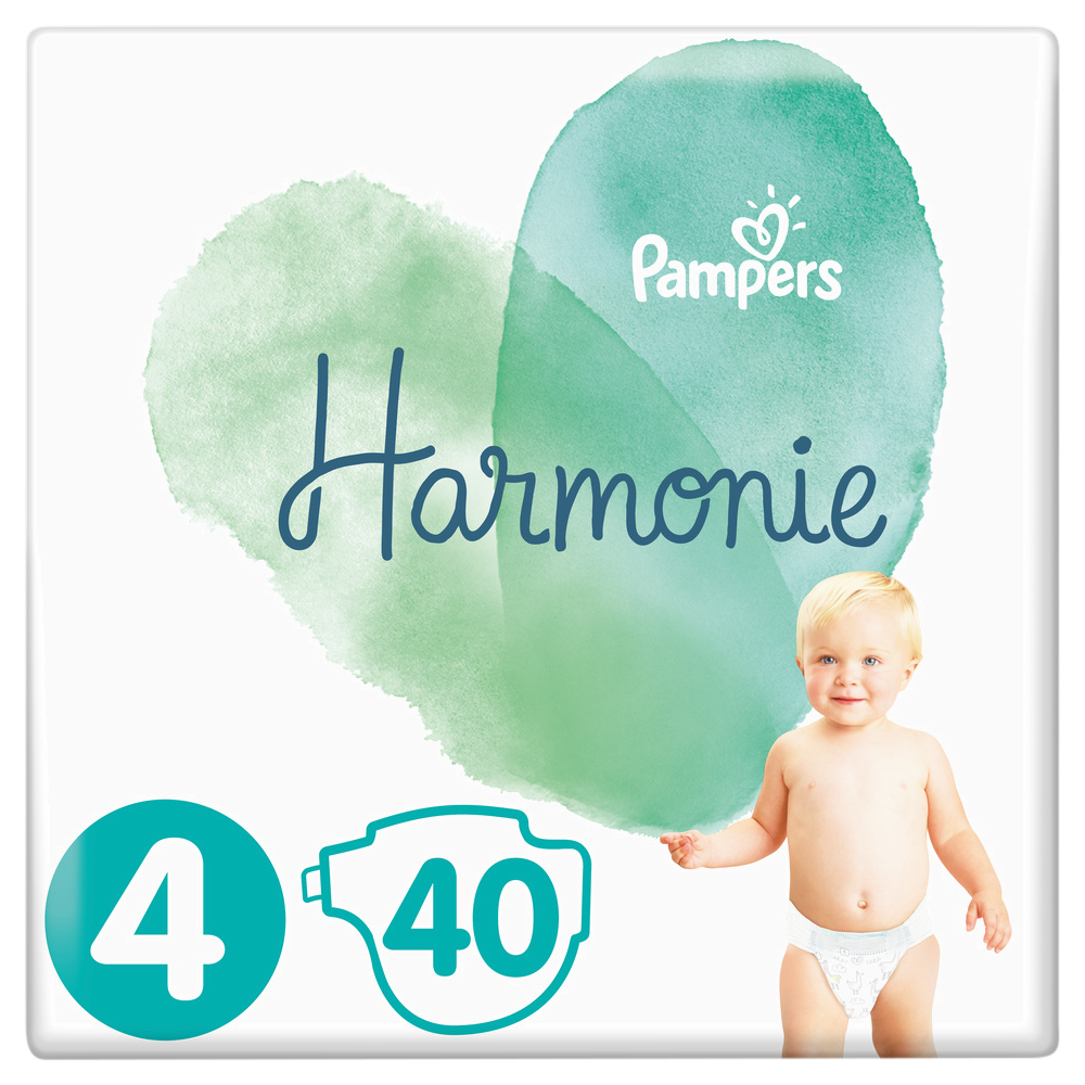 Couches Harmonie T4 / 9-4 kg, Pampers (x 40)