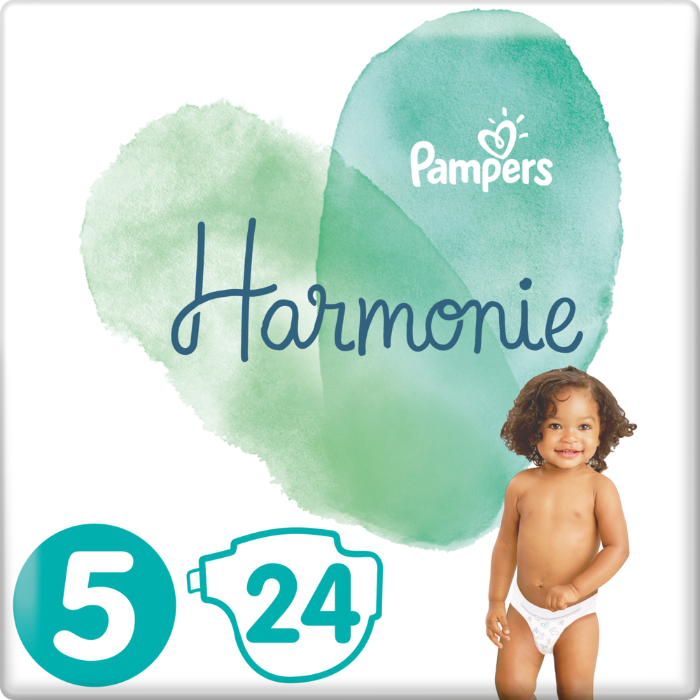Couches Harmonie T5 / 11-16 kg, Pampers (x 24)