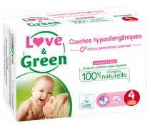 Couches sensitives et écologiques - T4,  Love & Green (x 46)