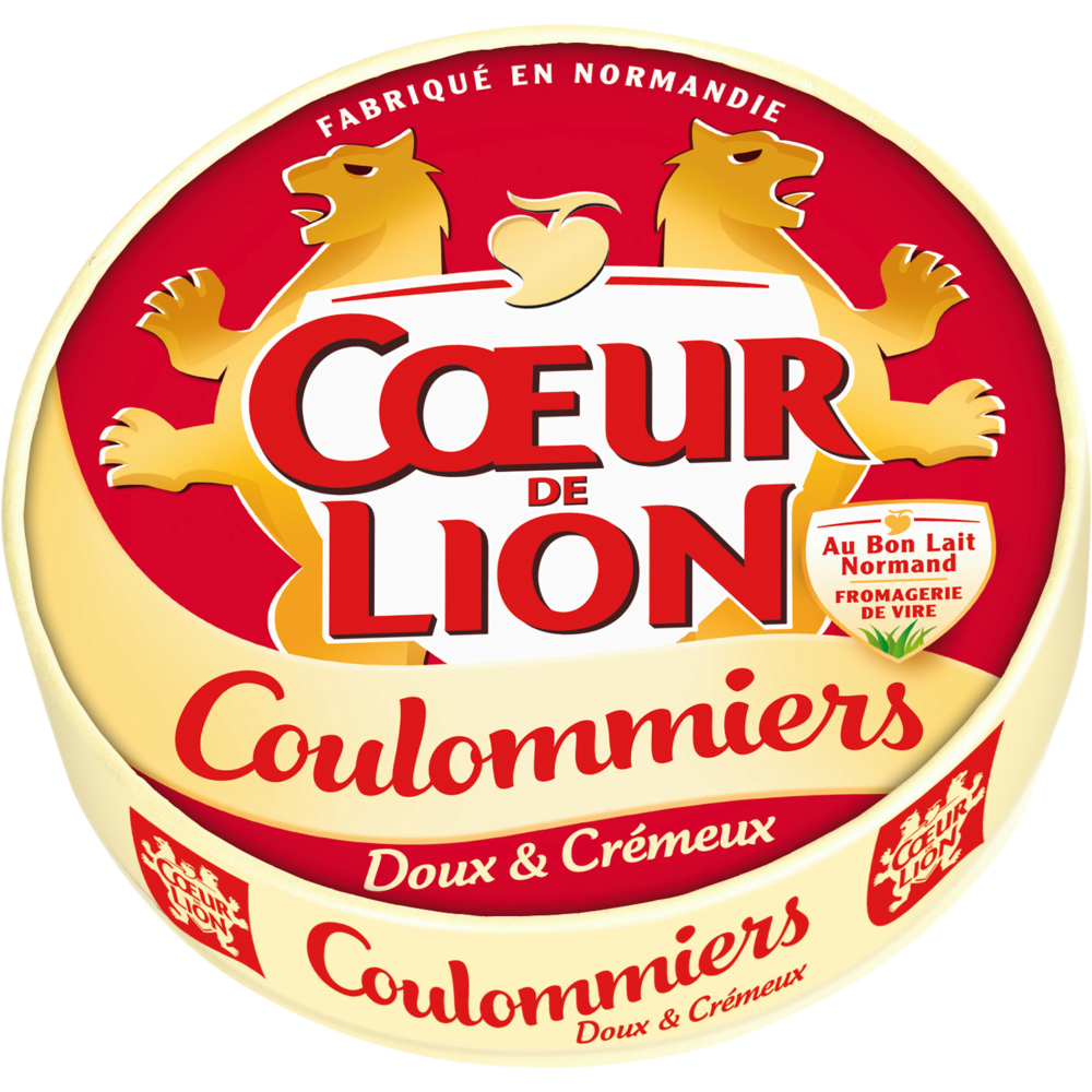 Coulommiers, Coeur de Lion (350 g)