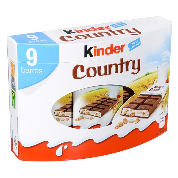 Kinder Country (x 9, 211 g)