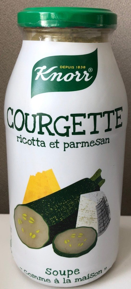 Soupe courgette/ricotta, Knorr (45 cl)
