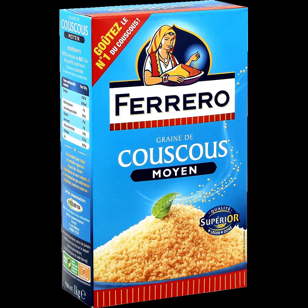 Couscous moyen, Ferrero (1 kg)