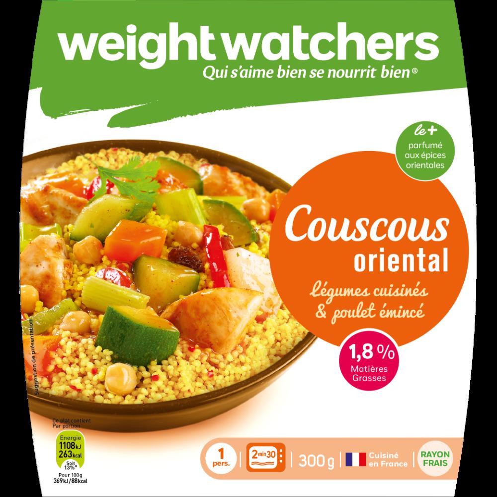 Couscous oriental légumes et poulet, Weight Watchers (300 g)