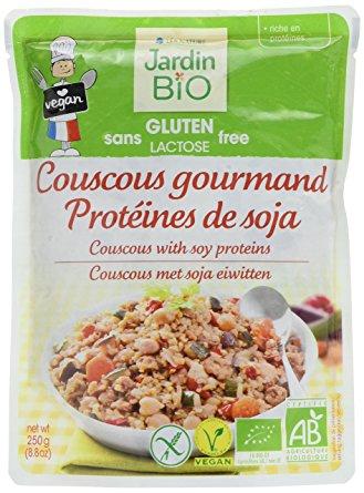 Couscous gourmand protéines de soja sans gluten BIO, Jardin Bio (250g)