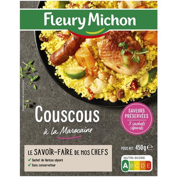 Couscous à la marocaine, Fleury Michon (450 g)