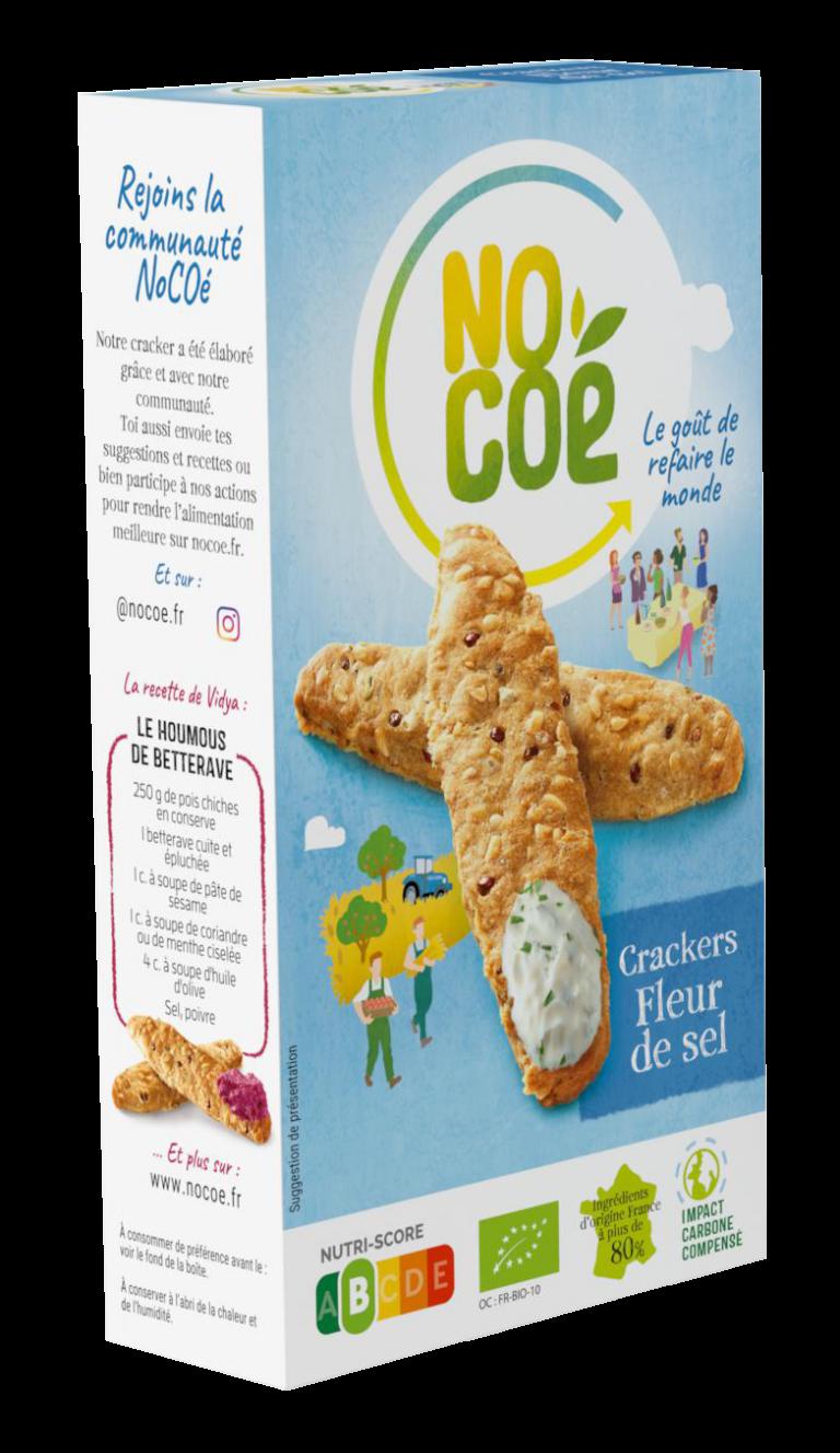 Crackers fleur de sel BIO, Nocoé (100 g)