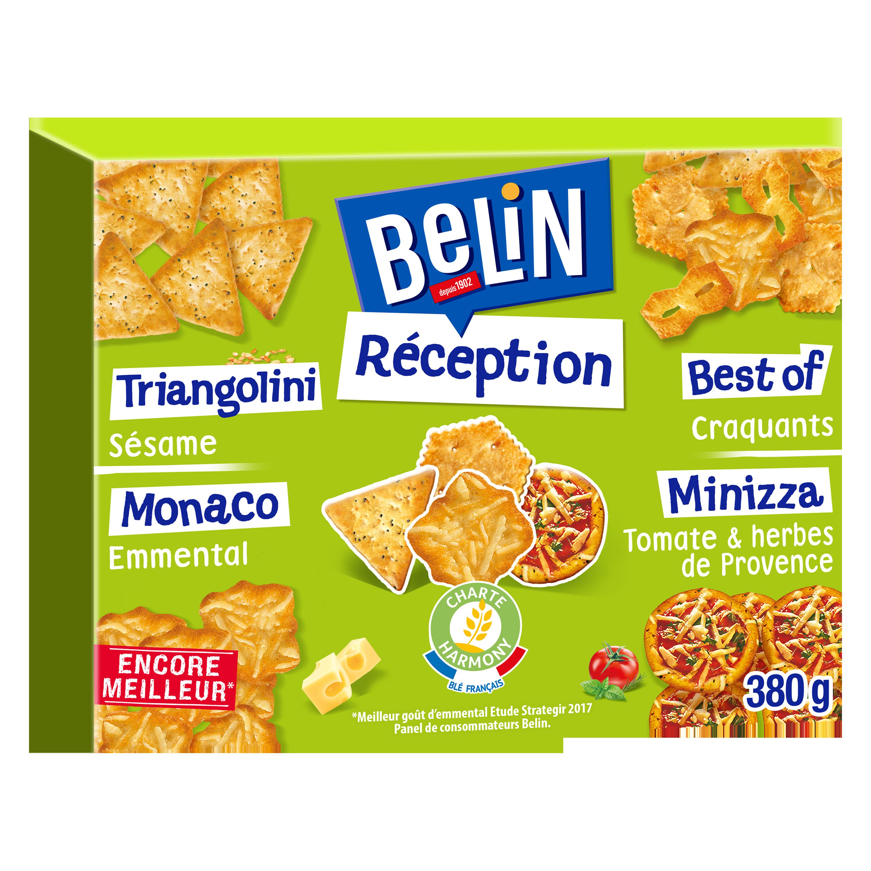 Crackers Réception assortiment, Belin (380 g)