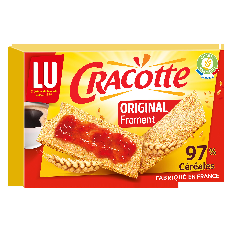 Cracotte au froment, Lu (250 g)