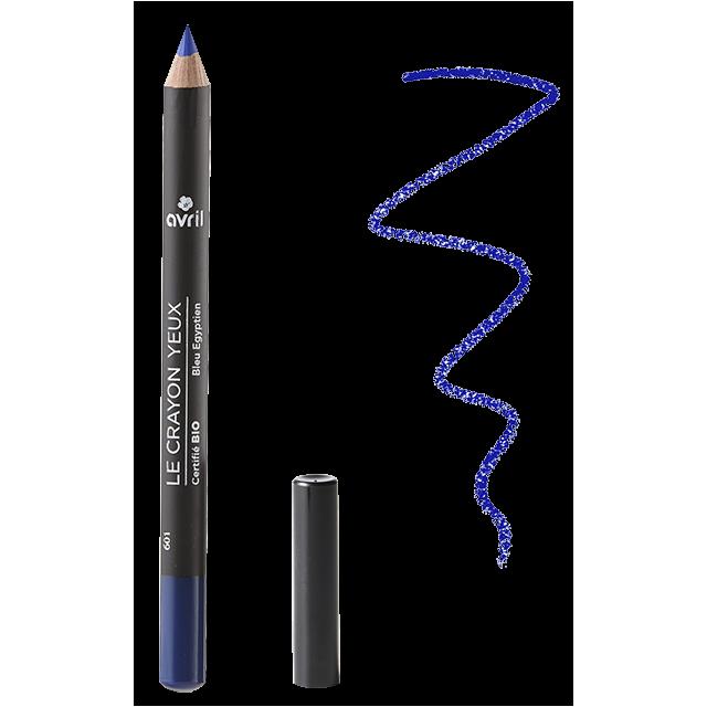 Crayon yeux bleu égyptien certifié BIO, Avril (1 g)