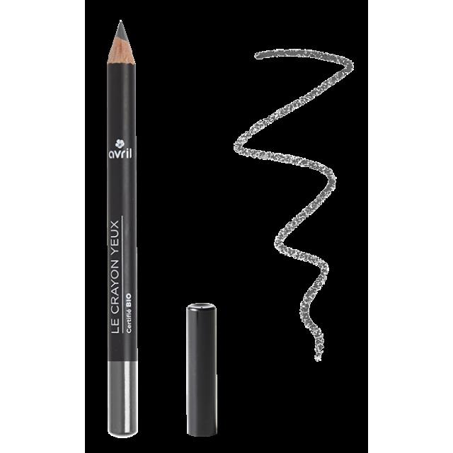 Crayon yeux gris ardoise certifié BIO, Avril (1 g)