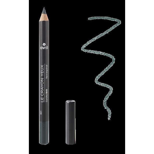 Crayon yeux vert impérial certifié BIO, Avril (1 g)