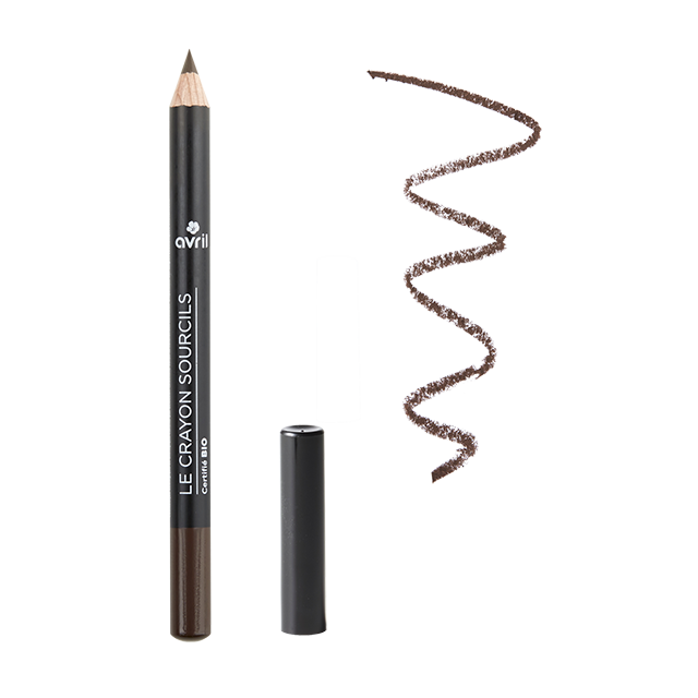 Crayon sourcils brun certifié BIO, Avril (1 g)