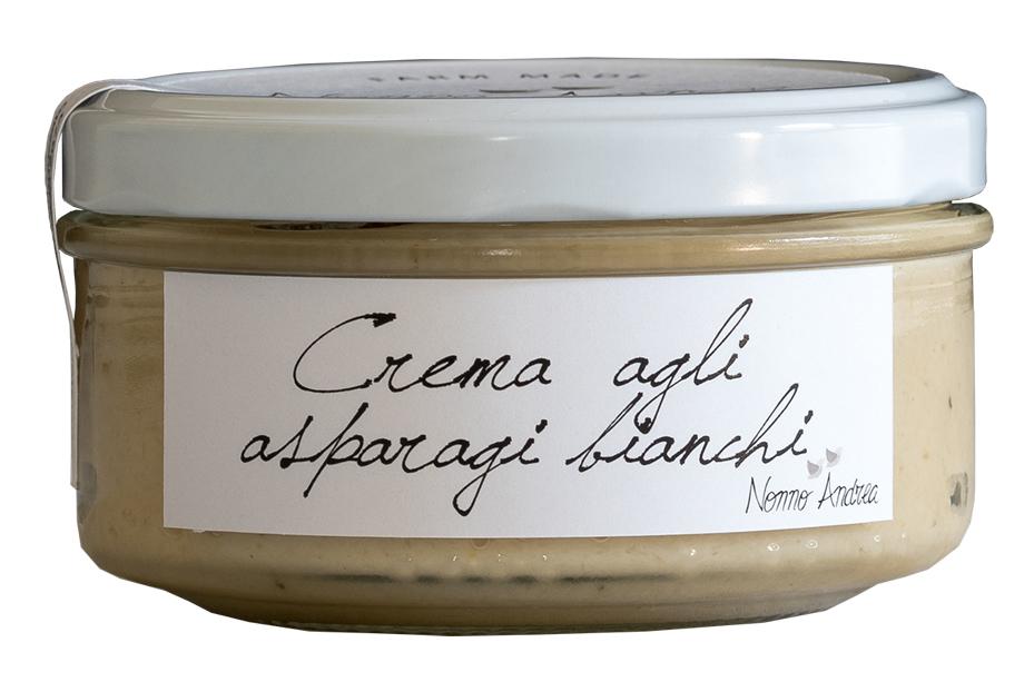 Crème d'asperge blanche BIO, Nonno Andrea (150 g)