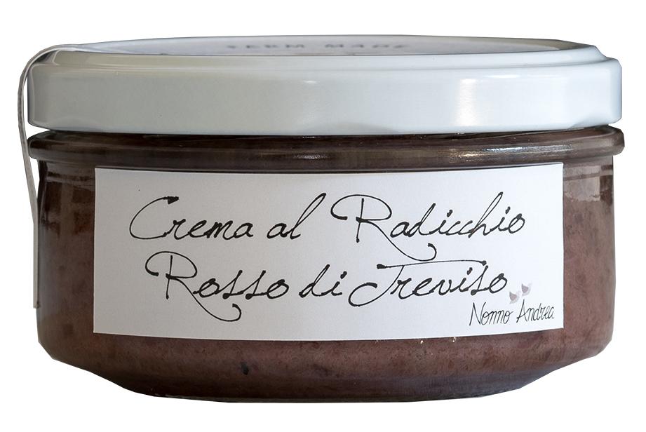 Crème de chicorée rouge de Trévise BIO, Nonno Andrea (150 g)