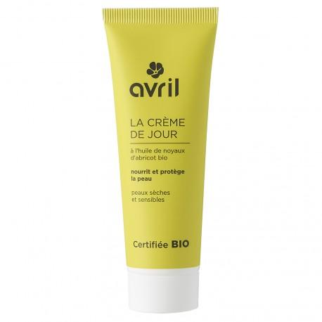 Crème de jour peaux sèches et sensibles certifiée BIO, Avril (50 ml)
