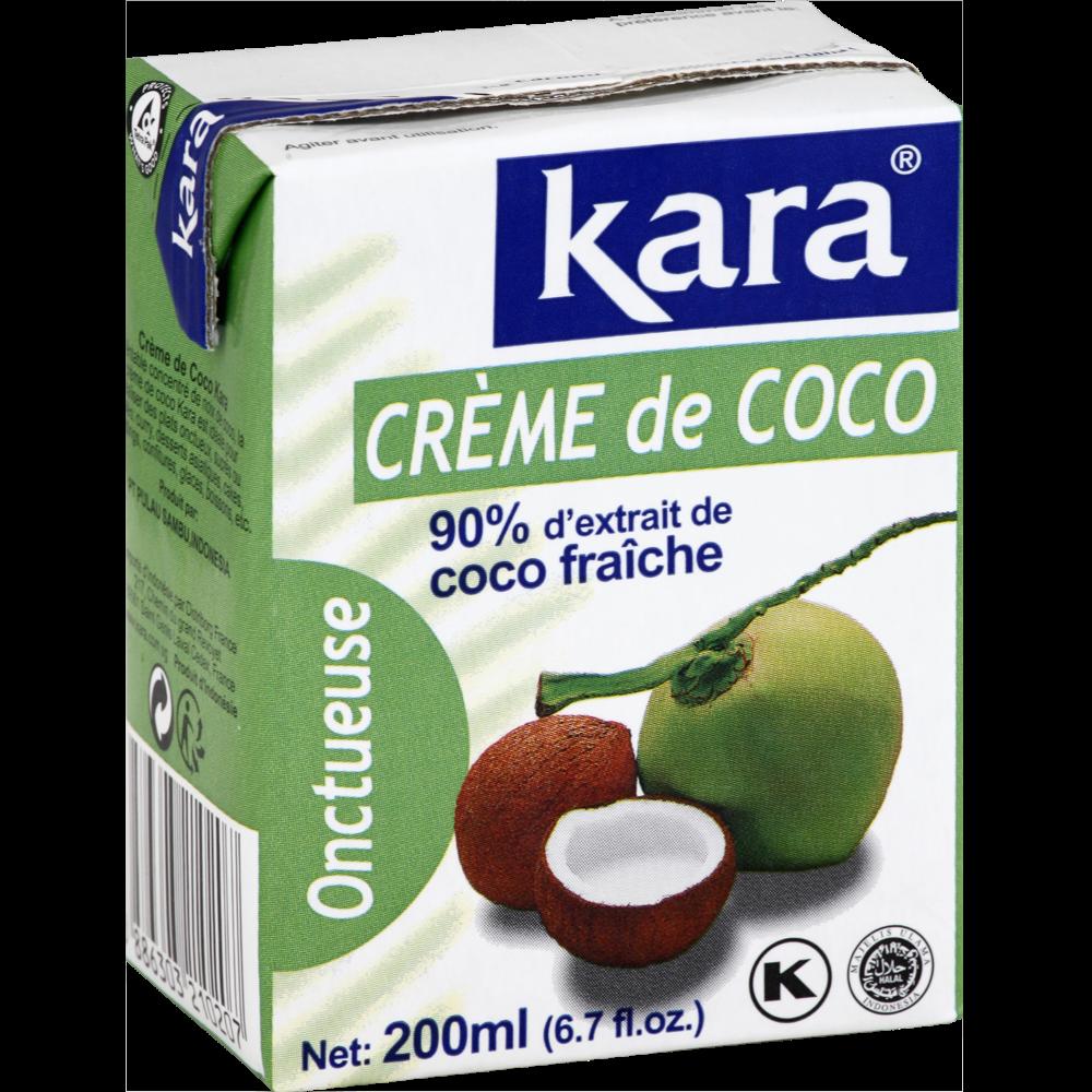 Crème de noix de coco Indonésie, Kara (200 ml)