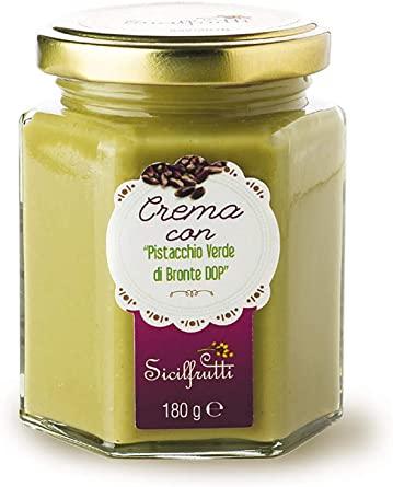 Crème de pistache de Bronte DOP,  Sicilfrutti (180 g)