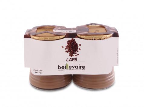 Crème dessert café, Beillevaire (2 x 125 g)