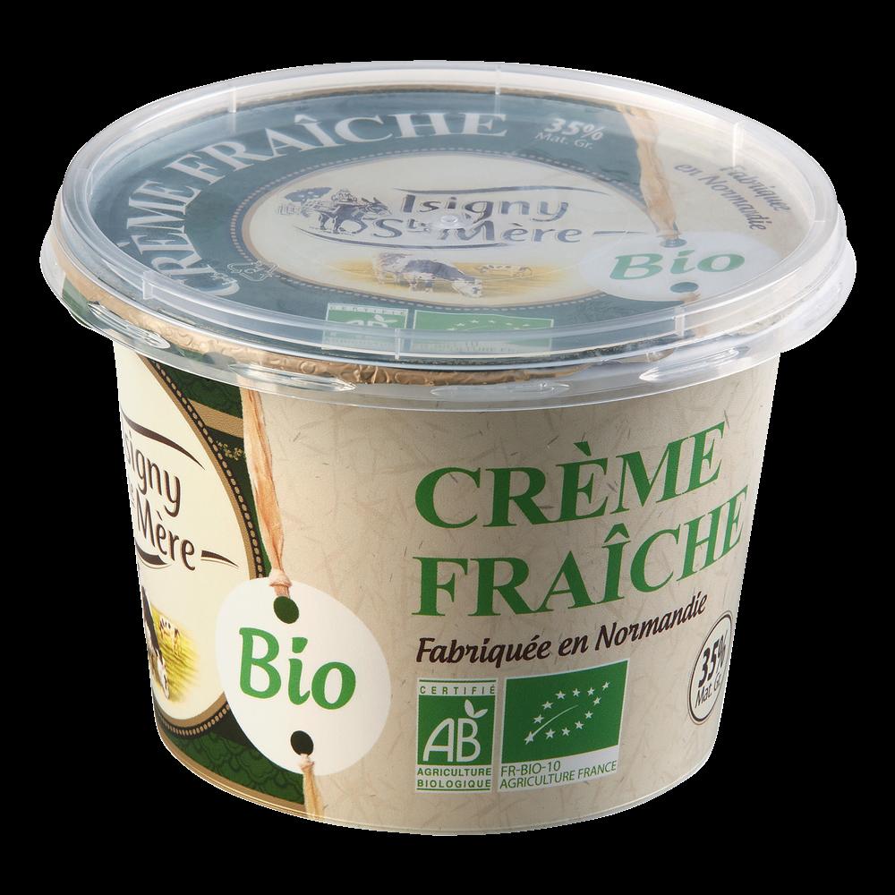 Crème fraîche BIO 35% MG, Isigne Ste Mère (20 cl)