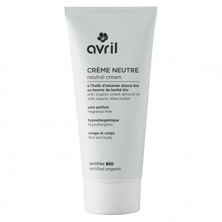 Crème neutre certifiée bio, Avril (200 ml)
