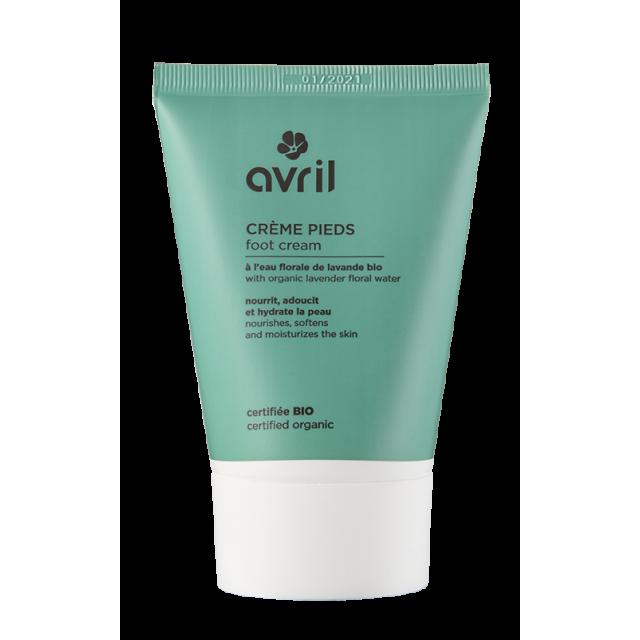 Crème pour les pieds certifiée BIO, Avril (100 ml)