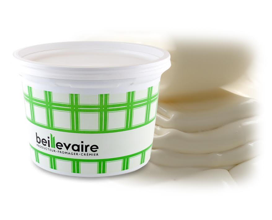 Crème fraîche pasteurisé 36%, Beillevaire (50 cl)