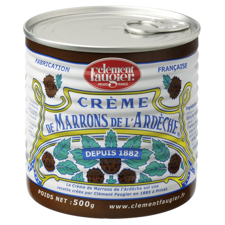 Crème de marrons de l'Ardèche, Clément Faugier (500 g)